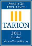 Tarion Award for Morra Homes